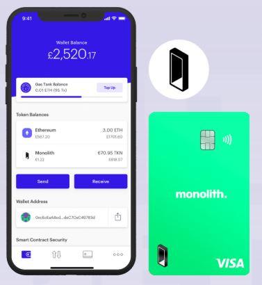 Monolith Crypto Kredietkaart en App